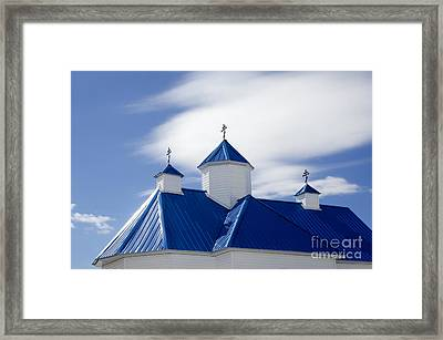 Into The Blue 3 Framed Print