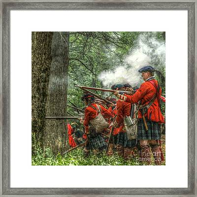 Into The Breech Framed Print by Randy Steele