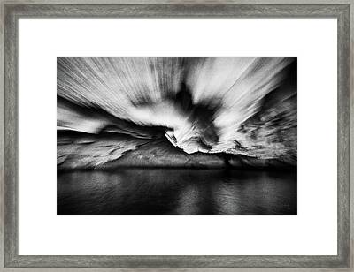 Into The Cave Framed Print by Joseph Westrupp