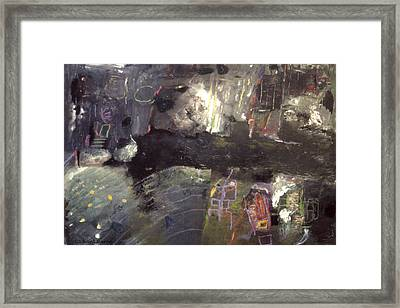 Into The Caves Framed Print