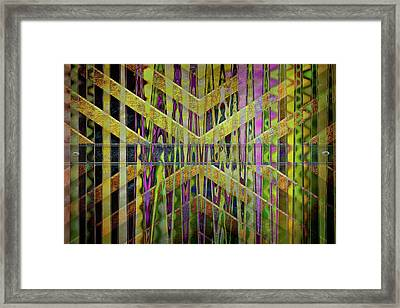 Into The Centre Of Yourself Framed Print by Nicole Frischlich