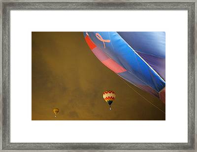 Into The Dawn Sky Framed Print by Jeff Swan
