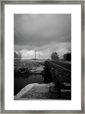 Into The Distance 2 Framed Print by Matthew Angelo