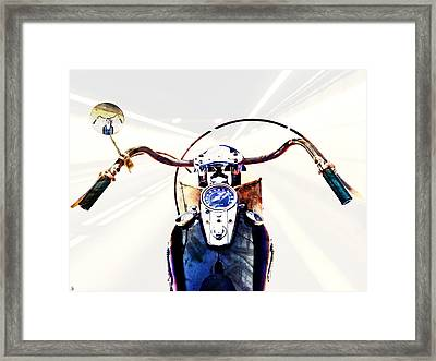 Framed Print featuring the photograph Into The Fray by Ken Walker