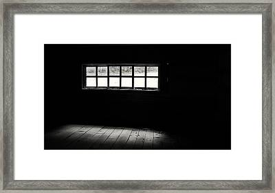 Into The Fray Framed Print
