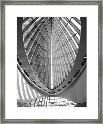 Into The Future Framed Print