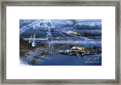 Into The Hornet's Nest Framed Print by Randy Green