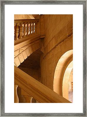 Into The Light Above Framed Print by Jez C Self