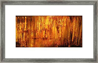 Into The Light Framed Print by Hengameh Kaghazchi