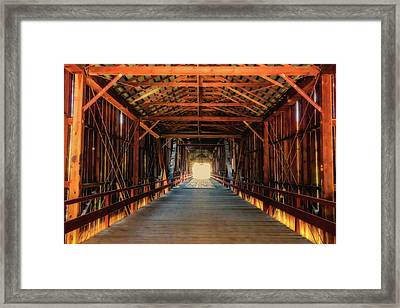 Into The Light Framed Print by Marnie Patchett