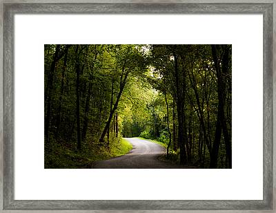 Into The Light Framed Print by Shelby  Young