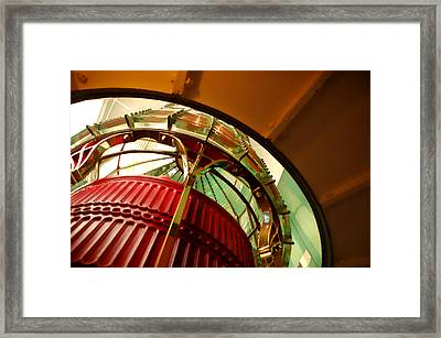 Into The Lighthouse Framed Print