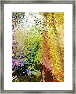 Into The Liquid Framed Print