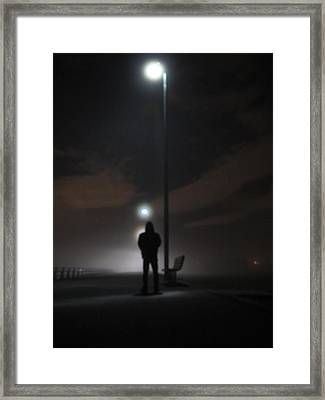 Framed Print featuring the photograph Into The Mist by Digital Art Cafe