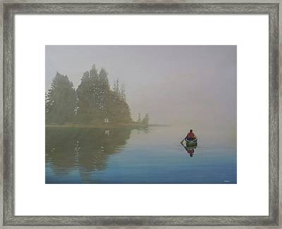 Into The Mistic Framed Print