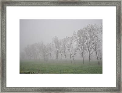Into The Mystic Framed Print by Pat Kunke