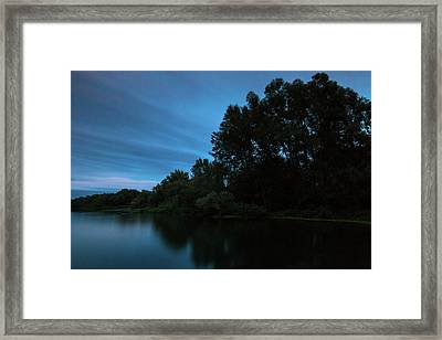 Framed Print featuring the photograph Into The Night by Davor Zerjav