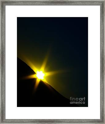 Into The Night I Framed Print by Irene Abdou