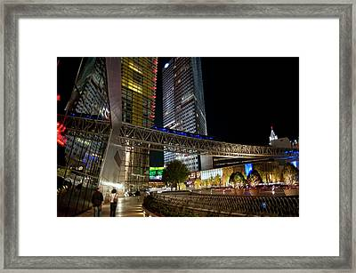 Into The Night Framed Print by Stephen Campbell