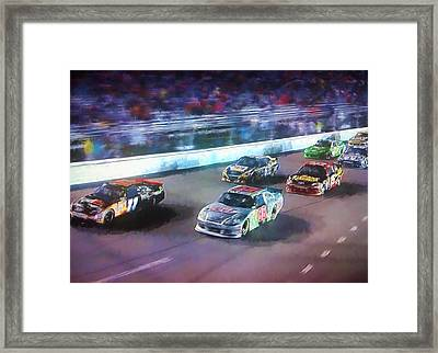 Into The Night Framed Print by Steven Richardson