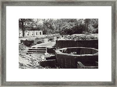 Into The Ruins 1 Framed Print