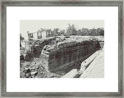 Into The Ruins 5 Framed Print
