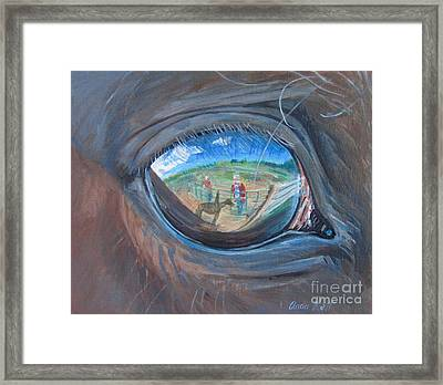 Into The Soul Framed Print