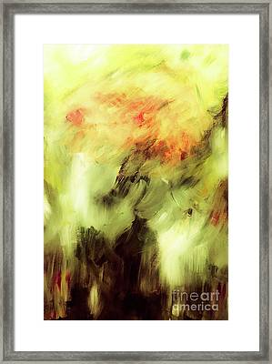 Into The Storm Framed Print by Amelle