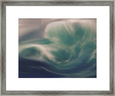 Into The Storm Framed Print by Dan Sproul