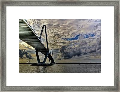 Into The Storm Framed Print by Drew Castelhano