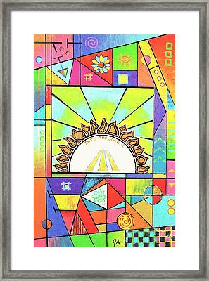 Into The Sun Framed Print