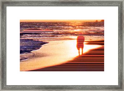 Into The Sunset 6 Framed Print by Lyle Crump