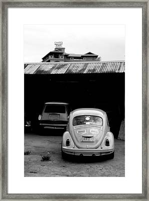 Into The Tunnel Framed Print by Jez C Self