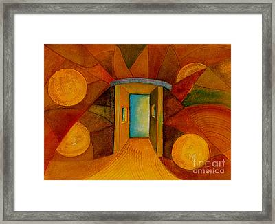 Into The Universe Framed Print by Dan Earle
