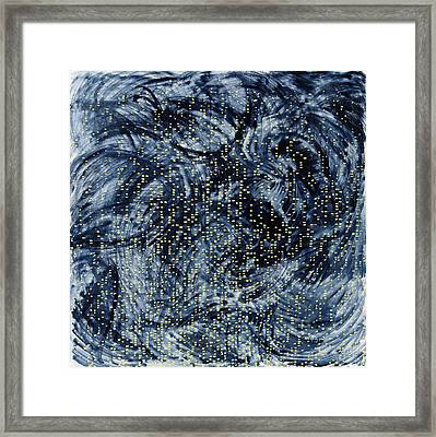 Into The Universe Framed Print by Joan De Bot