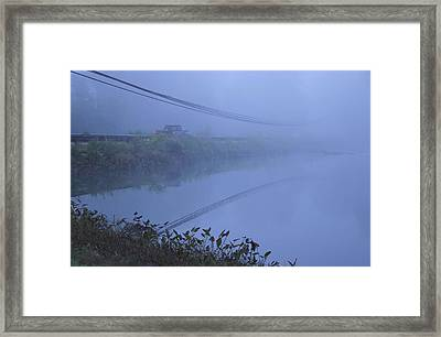 Into The Unknown Framed Print by Karol Livote