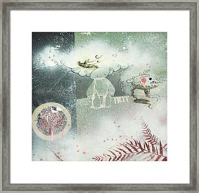 Into The Unknown Framed Print by Konrad Geel