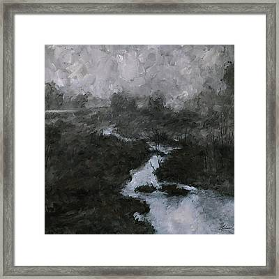 Into The Void 3 Framed Print