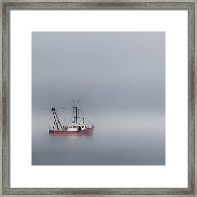 Into The Void Square Framed Print by Bill Wakeley