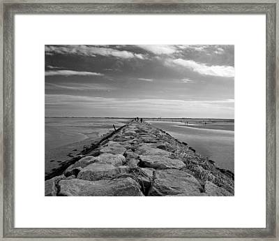 Into The Water Framed Print by Conor McLaughlin