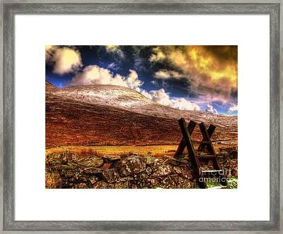 Into The Wild Framed Print by Kim Shatwell-Irishphotographer