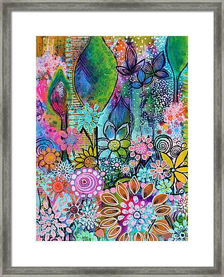 Into The Wild Framed Print by Robin Mead