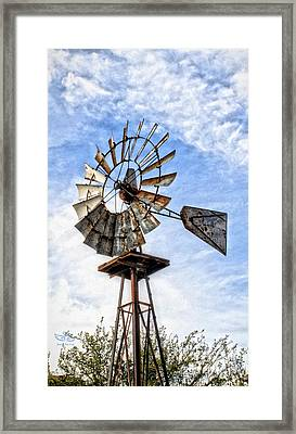 Into The Wind Framed Print by Beauty For God