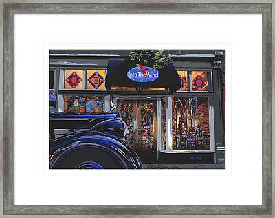 Into The Wind ... Packard Framed Print by Mike Hill