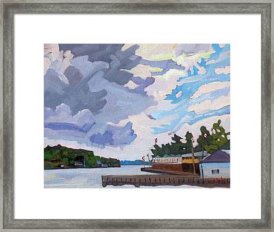 Into The Wind Framed Print by Phil Chadwick