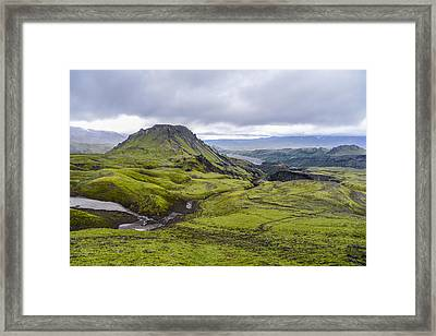 Into Thorsmork Framed Print