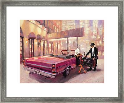 Framed Print featuring the painting Into You by Steve Henderson