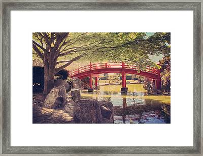 Into Your Loving Heart Framed Print by Laurie Search