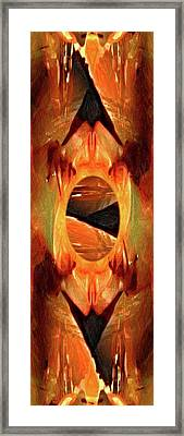 Intrascape Framed Print by Kristin Sharpe