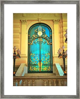 Intricacies Framed Print by Tara Turner
